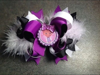 HOW TO make a bottle cap (a better way) and attach it to a hair bow