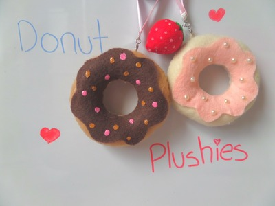 How to Make a Felt Donut Plush ♡ BerryWhimsy