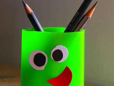 How To Make A Fun Pen Holder For Kids - DIY Crafts Tutorial - Guidecentral