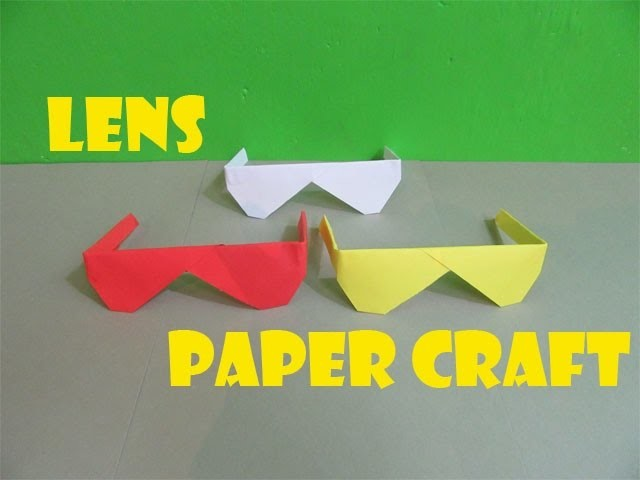 How to make a lens paper - Easy Tutorials