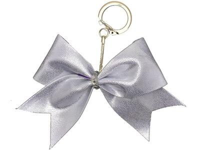 How To Make A Mini Cheer Bow Keychain