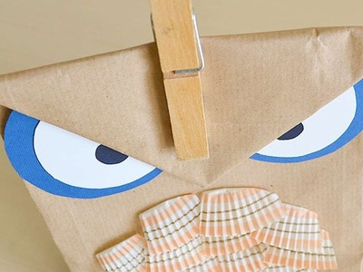 How To Make A Owl Shaped Gift Bag - DIY Crafts Tutorial - Guidecentral