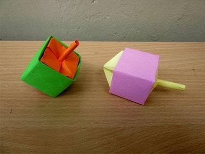 How to Make a Paper Dreidel - Easy Tutorials