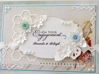 How To Make A Personalised Engagement Card - DIY Crafts Tutorial - Guidecentral
