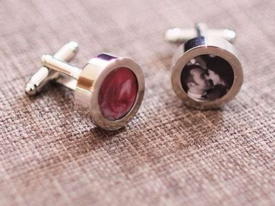 How To Make Custom Photo Cuff Links - DIY Style Tutorial - Guidecentral