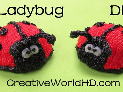How to Make Ladybug - 3D Printing Pen Creations.Scribbler DIY Tutorial
