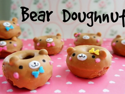 How to Make Mini Bear Doughnuts - Valentine's Recipe