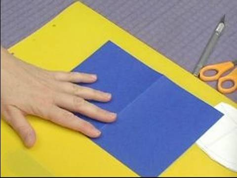 How to Make Pop-Up Cards & Envelopes : How to Make a Pop-Up Birthday Card: Part 1