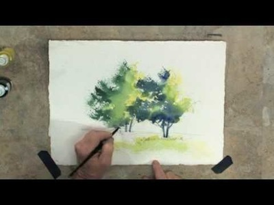 How to Paint Trees with Tom Jones