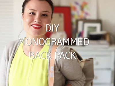 HSN | DIY Monogrammed Back Pack w.the Cricut Explore Cutting System