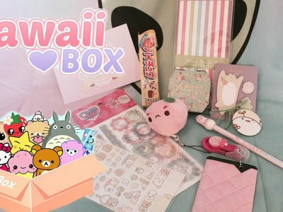 Kawaii box ♡ March 2015 Unboxing!