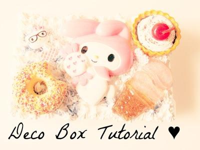 Kawaii Deco Box Tutorial ♥