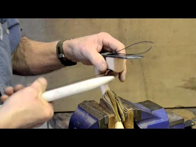 Kestrel Tool How To twine wrap your Adze
