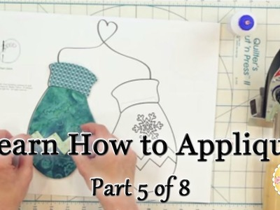 Learn How to Appliqué with Shabby Fabrics - Part 5: Pre-Assembling your Appliqué Shapes