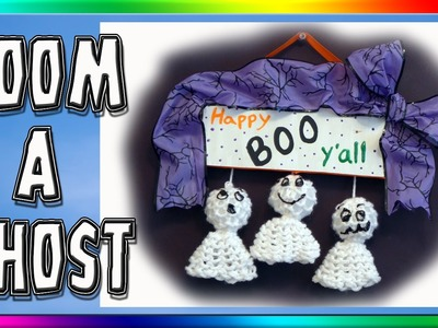 Loom a Ghost for Halloween Decorations
