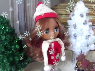 LPS Craft How to make a cute Christmas Tree