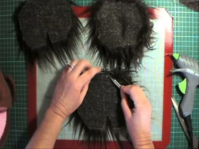 Making a fur wig cap for your puppet