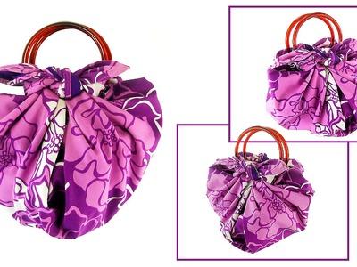 No-Sew 1 Minute Handbag (Easy, Fun, Cute & Eco-Friendly!)