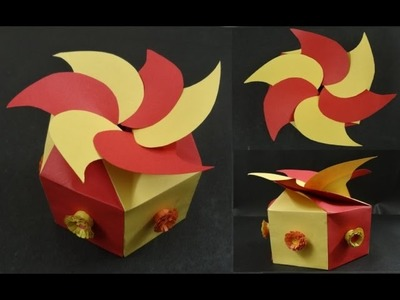 Paper Box Tutorial: How to make a Paper Gift box
