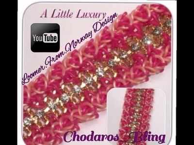 Rainbow Loom Band A Little Luxury Bracelet Tutorial. How To