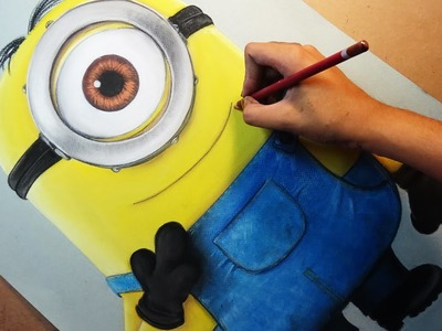 Speed Drawing: Stuart (Minions) | Diana Díaz