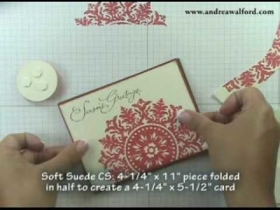 Stamping Techniques Episode #5: Shimmer Paint Part 5