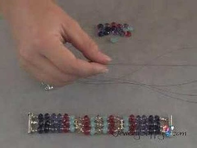 Swarovski Crystal Bracelet - How to, part II