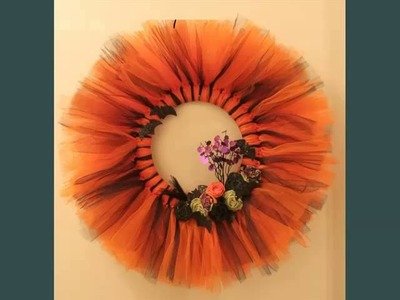 Tulle Wreath | Diy Decor Artwork Picture Collection Of Tutu