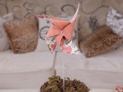 Arts & Craft Tutorial: How to make a Paper Windmill
