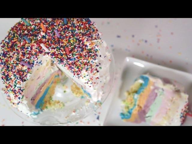 Birthday Ice Cream Cake | Just Add Sugar
