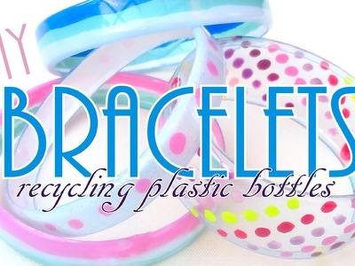 Bracelets Recycling Plastic Bottles - ♥ DIY ♥