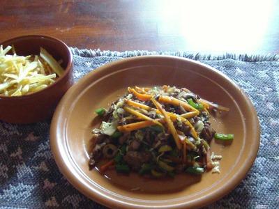 Comidas faciles. Chop suey simple y facil. Como no se me ocurrió!!