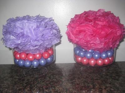 DIY Candy Centerpiece-First Birthday Planning!