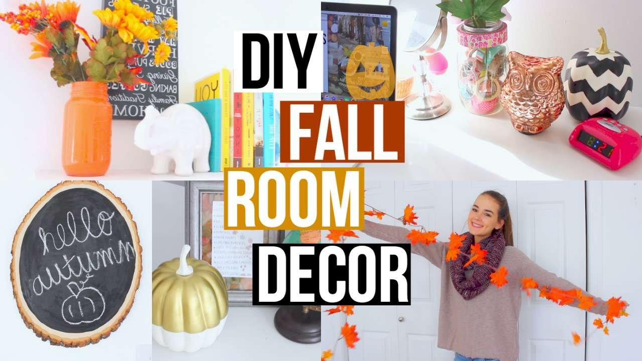DIY FALL ROOM DECOR + INSPIRATION | Reese Regan