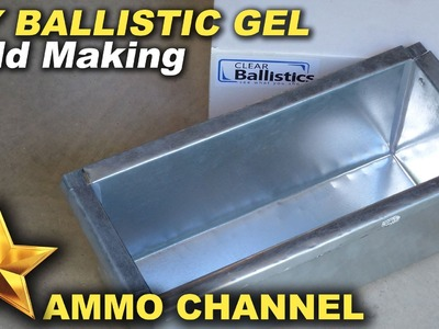 DIY Home made mold for ballistic gel