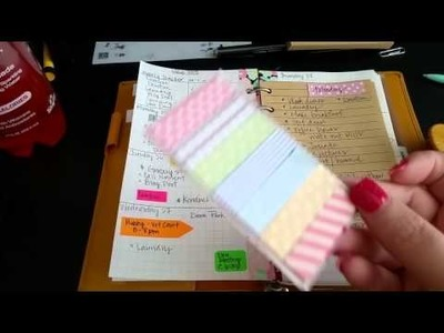 DIY Inserts for Personal Filofax. (Inspired)