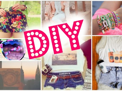 DIY Make Your Own Clothes For Summer