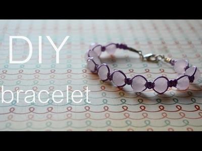 DIY : pastel bracelet
