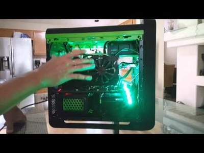 DIY PC Cuboid G Computer Case Finished Part 2 Review