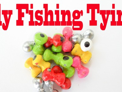 Fly Tying - DIY Make and Paint Lead Eyes By Daniel Pielet - HD Video # 88