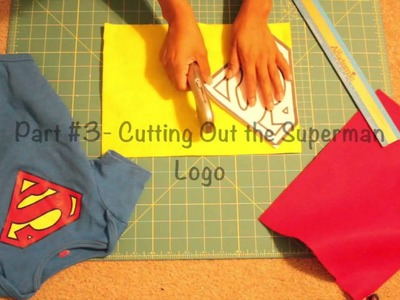 How I Made a Superman Cape - DIY