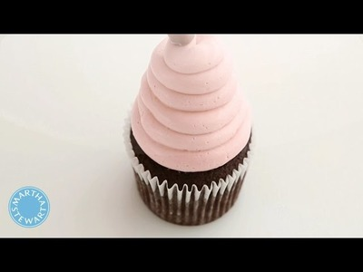 How to Frost Cupcakes with Martha Stewart