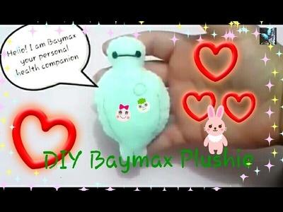 How to make a Baymax plushie[Big Hero 6]