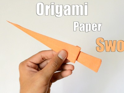 How to make a Paper Sword | Origami Paper Sword | Easy Tutorial