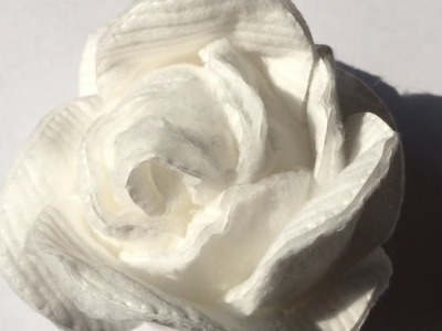 How To Make A Rose From A Cotton Disk - DIY Crafts Tutorial - Guidecentral