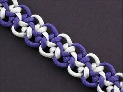 How to Make an Optic Star Bar (Paracord) Bracelet by TIAT