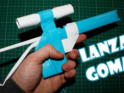 I make a sniper rifle paper launches gums Easy Homemade Weapons