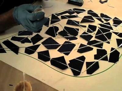 LEAF -  How to make a solar panel DIY