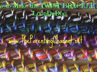 LoopDeDoo How to Make TWIST FRIENDSHIP BRACELET