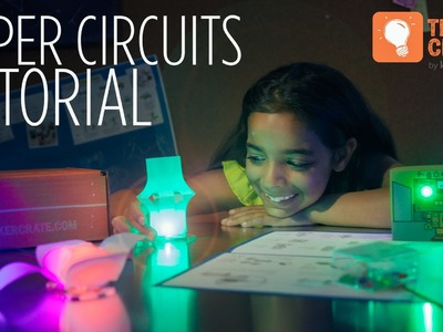 Make Paper Circuit LED Lanterns - Tinker Crate Project Instructions